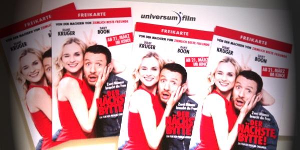 """Kinofreikarten Gewinnspiel """"Der Nächste, bitte!"""""""